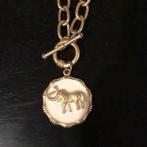 Fornash Elephant Chain Necklace